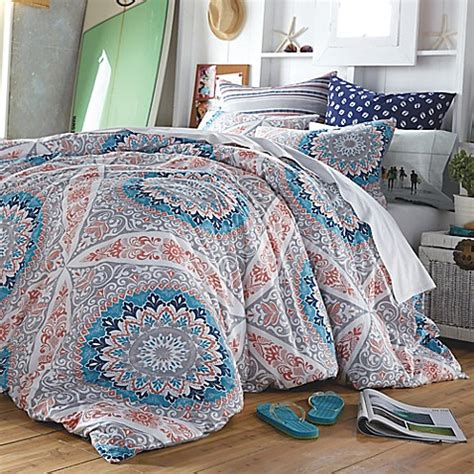 hang ten surfboard medallion reversible comforter set