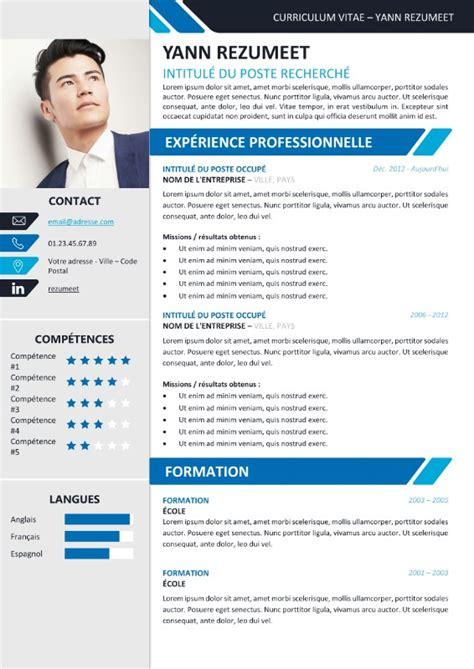 Exemple Des Cv Professionnel by Yanaka Mod 232 Le De Cv Professionnel