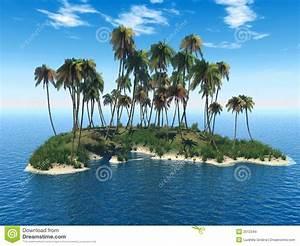 Bilder Von Palmen : palmen insel stock abbildung illustration von betrieb 2512344 ~ Frokenaadalensverden.com Haus und Dekorationen