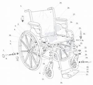 Cruiser Iii Wheelchair Replacement Parts