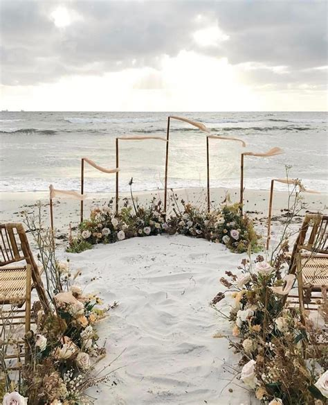19 charming beach and coastal wedding arch ideas for 2018