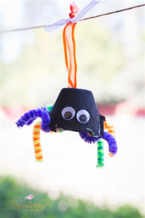 halloween egg carton crafts spiders ghosts