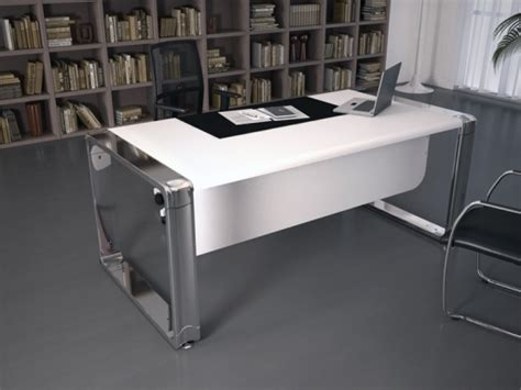 bureau de direction blanc bureaux de direction deskissimo design en bois blanc