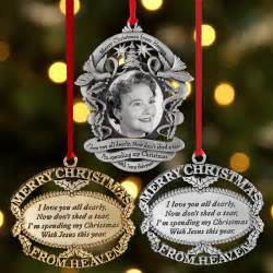 personalized memorial ornaments remembrance ornaments at personal creations