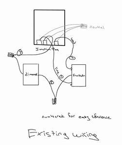 Installing A Light Dimmer  Issue With Wiring Diagram