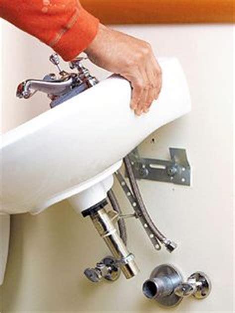 Pedestal Sink Mounting Bracket by Bathroom Sink Pedestal Sink And Installing Bathroom Sink