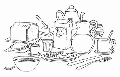 Coloring Pages Meals