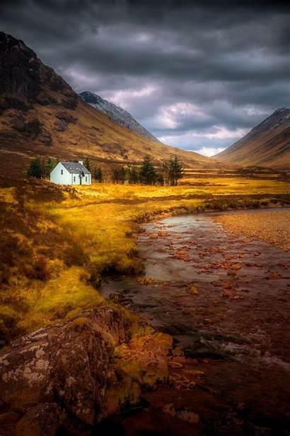 Scotland Cottage Landscape Glencoe 500px Ireland Travel