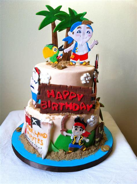 jake   neverland pirates cake cakecentralcom