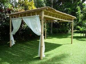 Pergola En Bambou : pergolas tous les fournisseurs pergola en bois ~ Premium-room.com Idées de Décoration