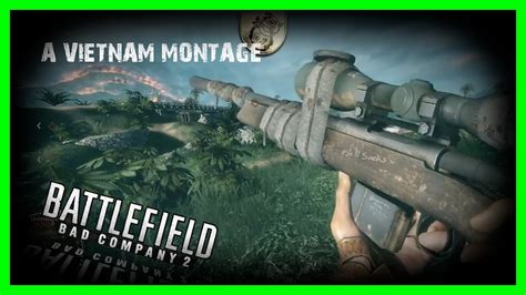battlefield bad company  vietnam montage youtube