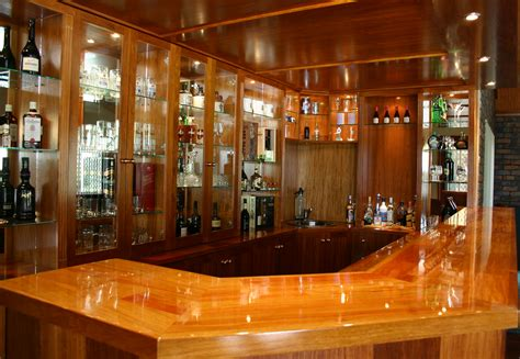 solid rosewood timber bar  samford finer