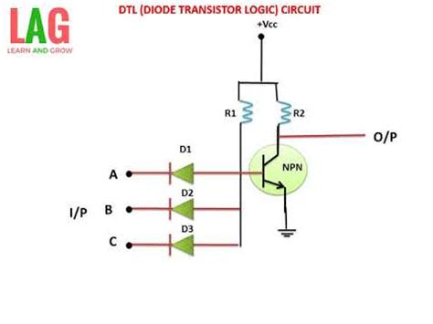 Dtl Diode Transistor Logic Circuit Youtube
