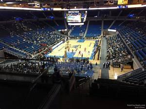Pauley Pavilion Seating Chart Basketball Pauley Pavilion Section 221 Rateyourseats Com