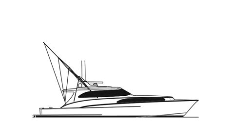 Drawing A Fishing Boat Step By Step by Sport Fishing Boat Drawing Www Imgkid The Image