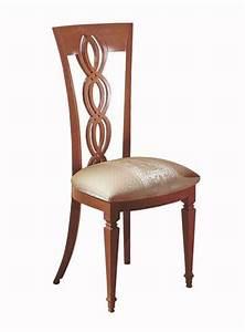 Sedia in legno, schienale a treccia, per sala da pranzo IDFdesign