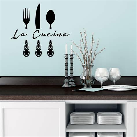 sticker mural cuisine stickers muraux pour la cuisine sticker la cucina 2