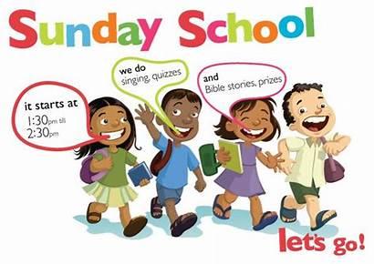 Sunday Children Clipart Let Class Bible Lets
