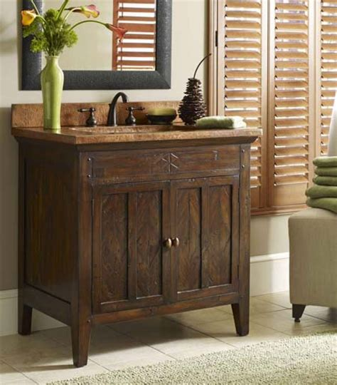 Cobre Rustic Sink Chest Western Bath Vanities  Free Shipping