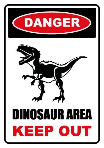 dinosaur area sign template   design  dinosaur area