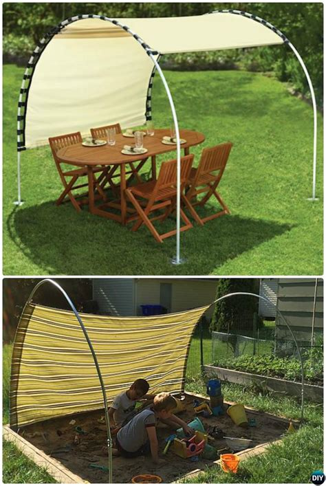 how to make a canopy with pvc pipe 20 pvc pipe diy projects for