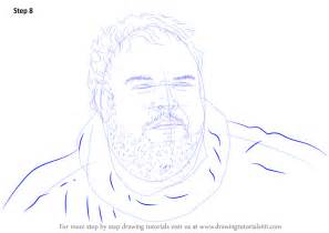 learn   draw hodor characters step  step