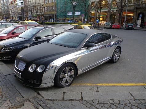 Carbon And Chrome Bentley -why
