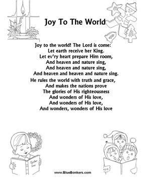bluebonkers joy   world  printable christmas