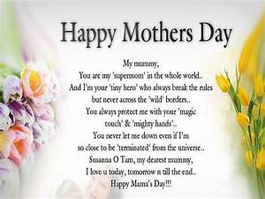 Mother's Day Poems Pictures – Lovely Messages