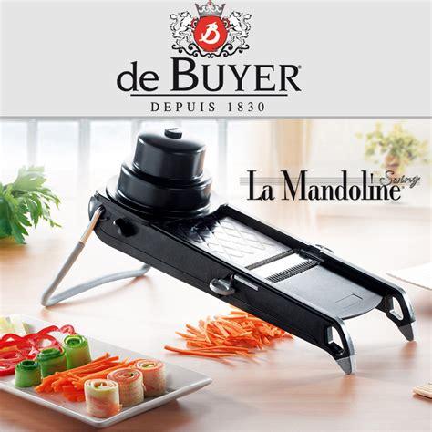 mandoline cuisine de buyer de buyer la mandoline swing plus black de buyer shop