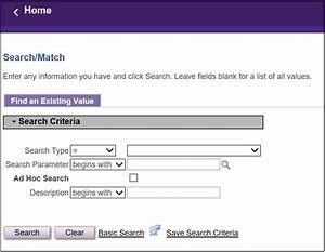 Search   Match Process User Guide  Student Enterprise