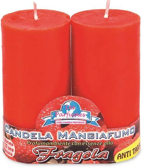 candela mangiafumo reginato fratelli store candele mangiafumo x 2 rosse fragola