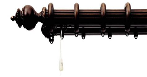 decorative heavy weight traverse rods drea custom designs