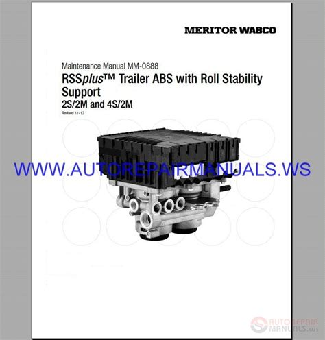 meritor wabco rss abs air filtration roll stability