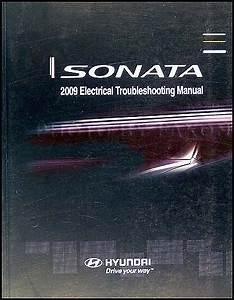 2009 Hyundai Sonata Repair Shop Manual 2 Volume Set Original