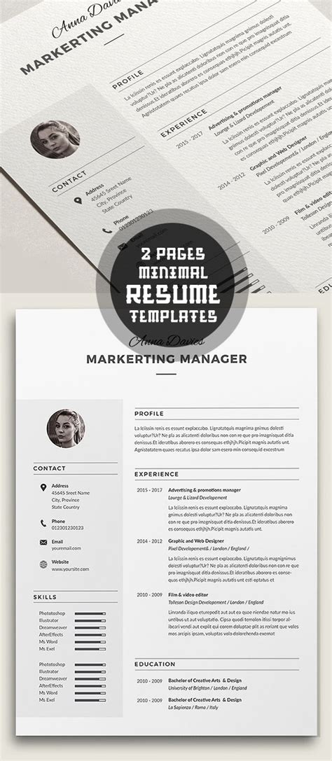 14998 minimal graphic design resume minimal graphic design resume image result for graphic