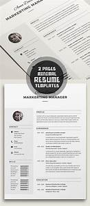 50 Best Minimal Resume Templates Design