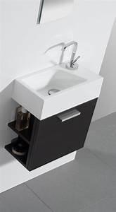Keramik Waschbecken Mit Unterschrank : g ste wc badm bel waschbecken mit unterschrank und ablagef cher badm bel ~ Markanthonyermac.com Haus und Dekorationen