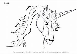 Drawing : How To Draw A Realistic Unicorn Step By Step ...