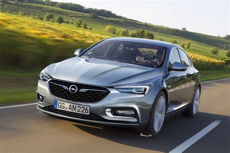 Yeni Opel Insignia 2020 by 2017 Opel Insignia B Rendered Based On Buick Design