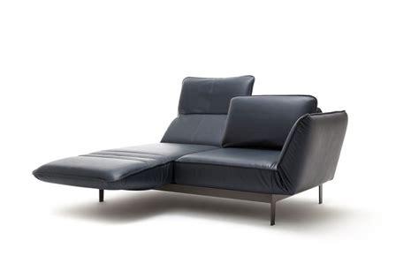 rolf sofa leder rolf mera sofa in leder mit beidseitigen drehsitzen und relaxfunktion rolf