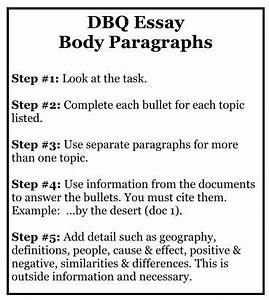 Writing A Dbq Essay Research Papers Format How To Write A Dbq Essay  How To Write A Dbq Essay For Ap World History  Parchment Writing Paper