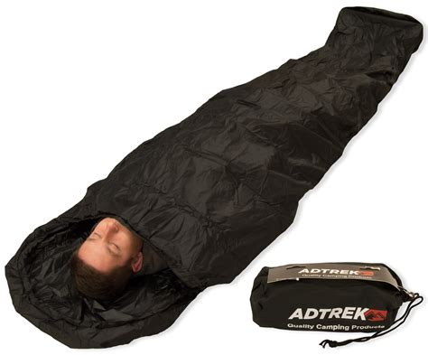adtrek sleeping bag bivvy bag sleeping bags outdoor value