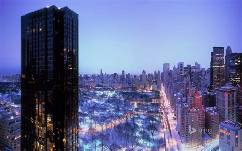Central Park Winter Iphone Wallpaper by New York United States Central Park Sky House Winter