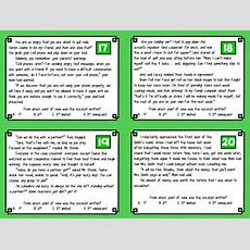 Point Of View Task Cards With Digital Option By Deb Hanson Tpt