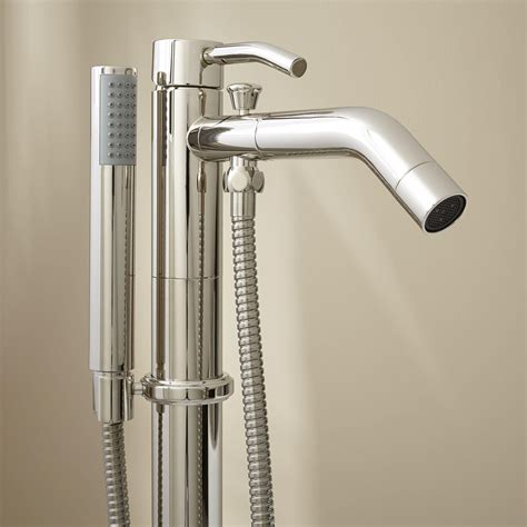 Shower Tap - caol freestanding tub faucet with shower bathroom