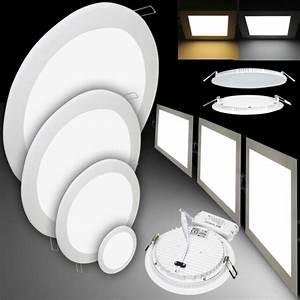 Led Deckenleuchte Einbau : panel deckenlampe einbaustrahler mit trafo kollektion erkunden bei ebay ~ Buech-reservation.com Haus und Dekorationen