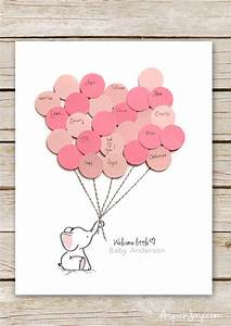 Elephant Baby Shower Guest Book Printable   Elephant baby ...