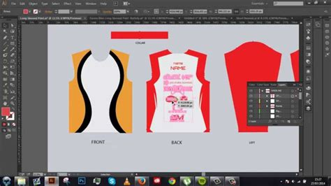 long sleeved jersey ai tutorial template included