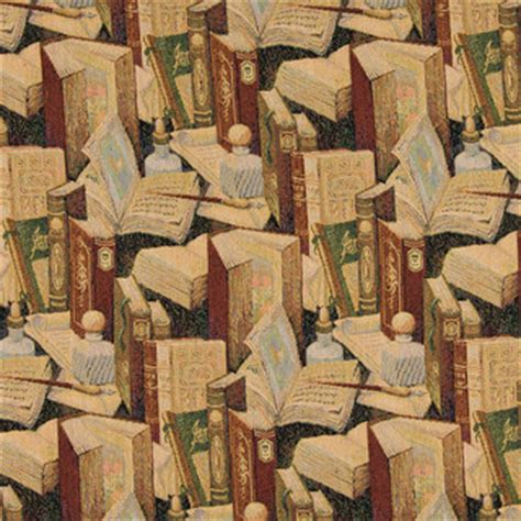 palazzo fabrics classic books writing utensils themed